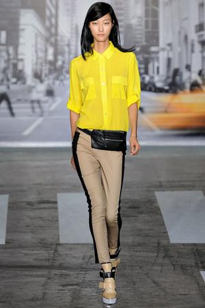 dkny-spring-2013-rtw-neon-yellow-sheer-shirt-profile
